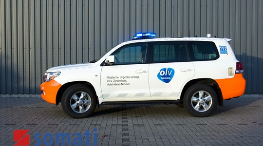 Emergency Rescue Vehicle – Aalst