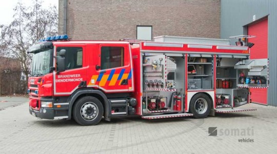 Equipment carrier – Fire Brigade Dendermonde