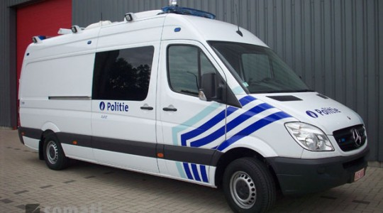 Commissariat mobile zone police d'Alost
