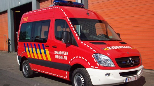 Commandowagen Brandweer Mechelen
