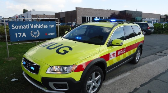Emergency Rescue Vehicle – ASZ Geraardsbergen