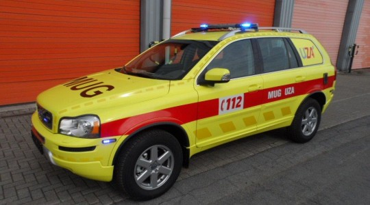 Emergency Rescue Vehicle – UZ Antwerp