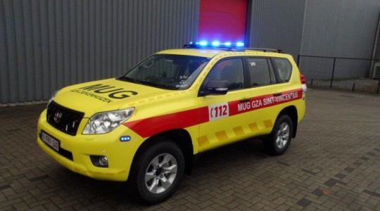 Emergency Rescue Vehicle – AZ Sint-Vincentius