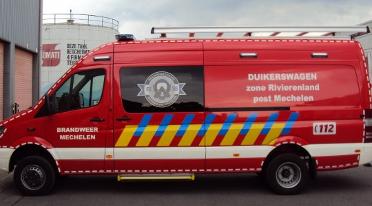 Divers' Vehicle –  Mechelen