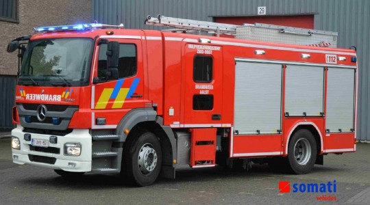 Pump Engines – Fire Brigade Aalst