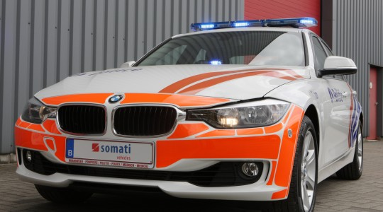 Véhicule d'intervention BMW 328i