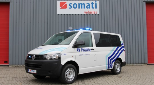 Combi VW T5 – Zone police d'Ardenne Flamandes