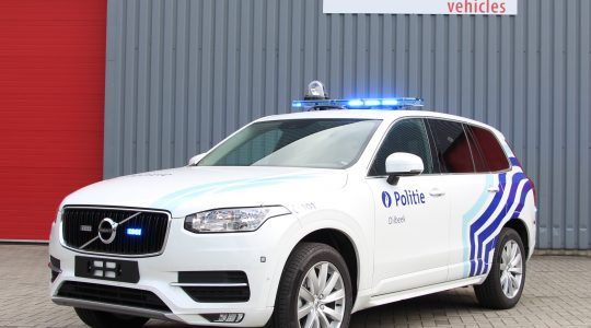 Véhicule d'intervention Volvo XC90 – Zone police de Dilbeek